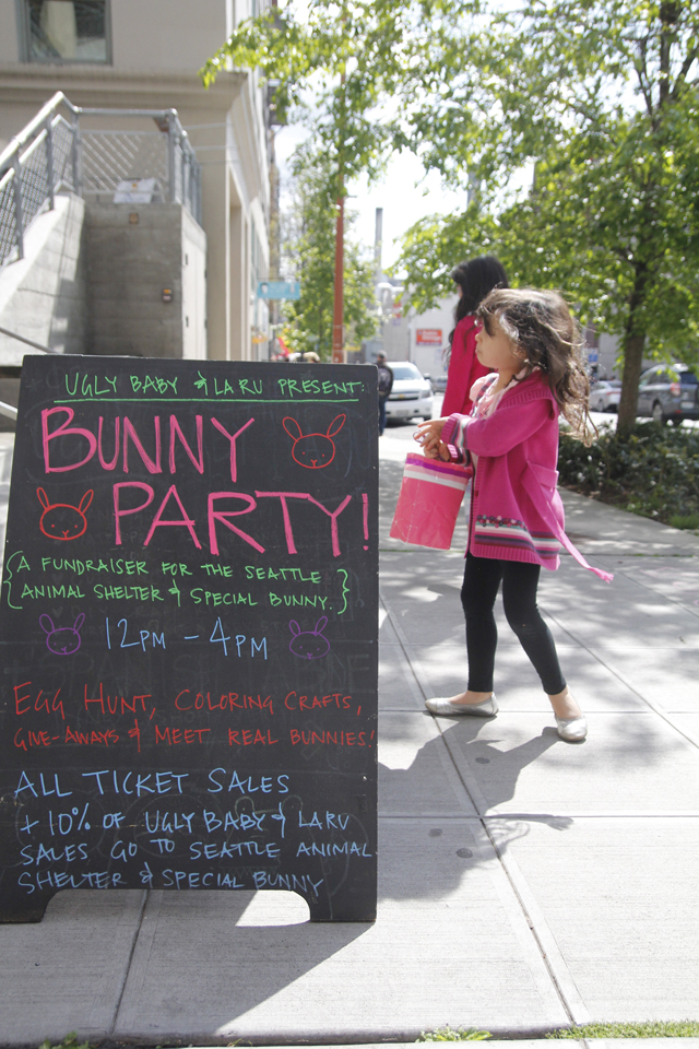 bunny-party-sign-seattle