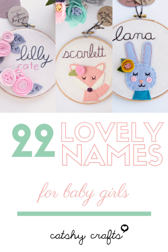 22 Lovely Baby Girl Names Meanings Cathy Crafts